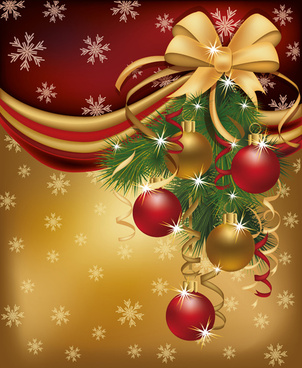 set of13 red golden christmas cards design vector