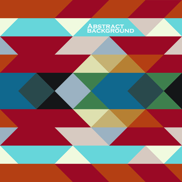 set of abstract colorful geometric background