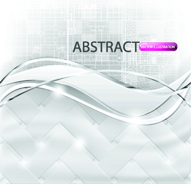 set of abstract white vector backgrounds graphic