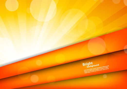set of bright level vector backgrounds