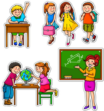 Children School Clipart Free Vector Download 5 331 Free Vector For Commercial Use Format Ai Eps Cdr Svg Vector Illustration Graphic Art Design