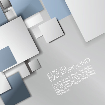set of colored shapes backgrounds vector