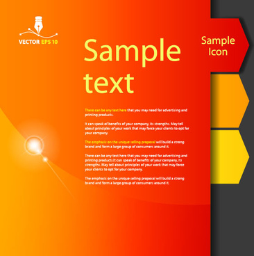 set of colorful stripes vector
