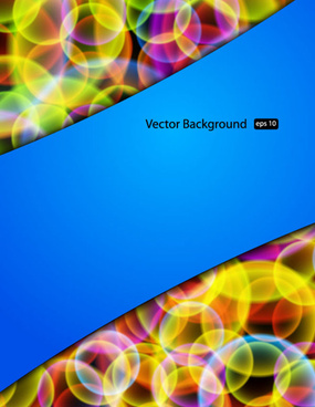 set of creative abstract background vector graphics