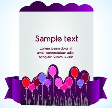 set of decorative banner vector