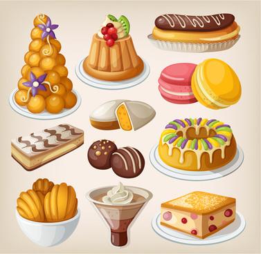 Vector Food Illustrator Symbols Logo Free Vector Download 223628