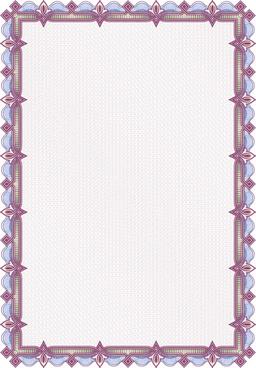 set of frame for guilloche design vector