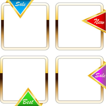 Gold borders frames free vector download (10,112 Free vector) for ...