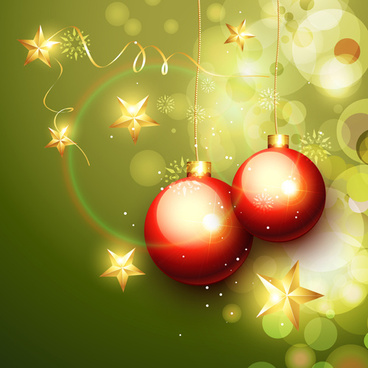 set of halation christmas background art vector graphic