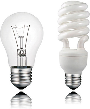 set of light bulb design elements vector