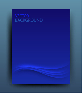 set of magazine and brochure cover vector