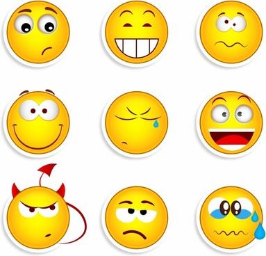 Free Vector Emoticon Smile Free Vector Download 1215 Free Vector