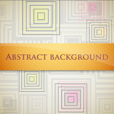 set of ornate abstract background vector