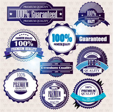 set of quality guaranteed vector labels