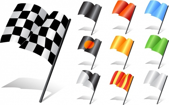 Racing flag vector free vector download (2,973 Free vector