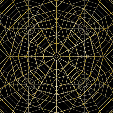 set of spider web vector background