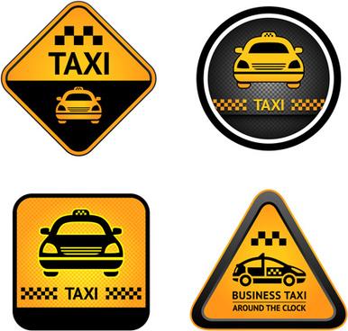 set of taxi labels vector