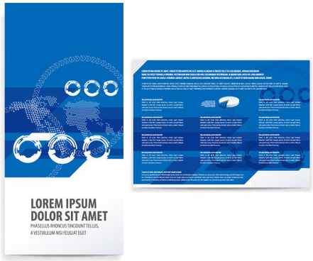 tri fold brochure background free vector download 49 788 free