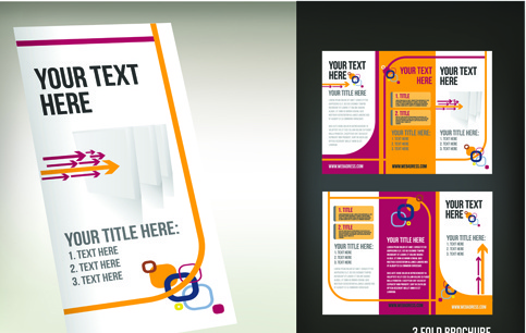 Tri Fold Brochure Free Vector Download Free Vector For - 3 folded brochure template