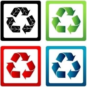 Set of Vector Recycle Symbols