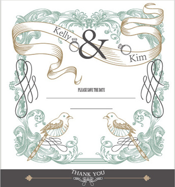 Wedding Card Vector Free Vector Download 13 423 Free Vector For