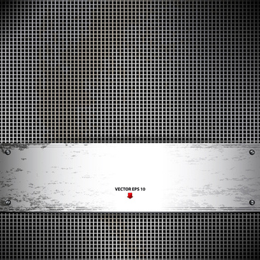 set vector of metal technology backgrounds