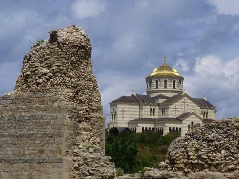 sevastopol ukraine st  vladimir cathedral