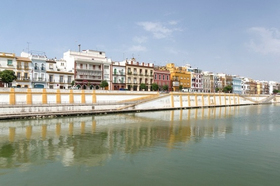seville spain harbor