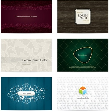 shading pattern style card vector