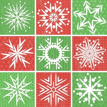 shading vector snowflakes and cultural