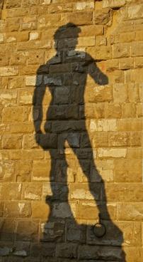 shadow david michelangelo