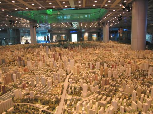 shanghai urban planning centre 2nd floor