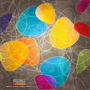 shaped with lines background vector