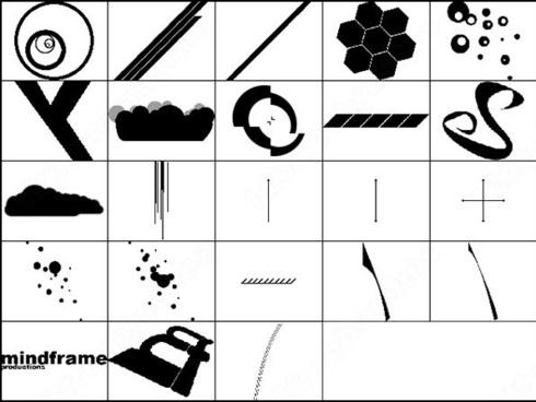 shapes brush