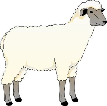 Knitting Sheep Clipart