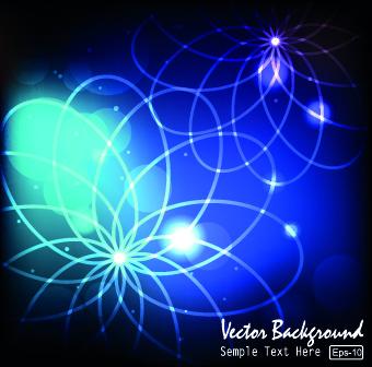 shine light backgrounds vector
