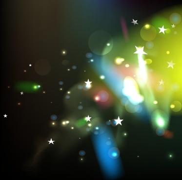 shining dream background art