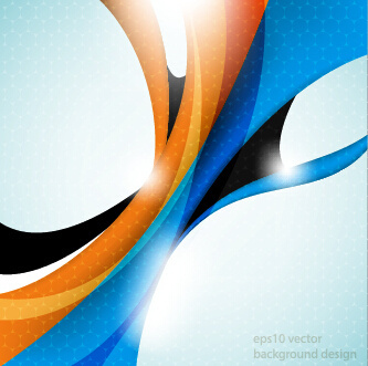shiny abstract wave background graphics vector