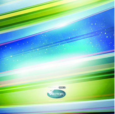 shiny background with colorful lines vector graphic