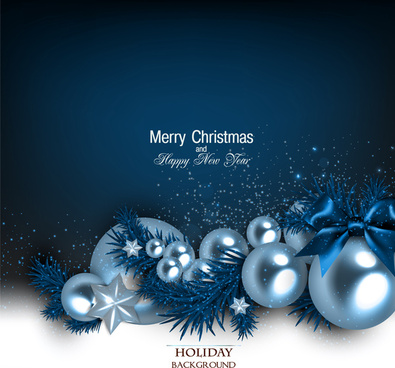 Shiny christmas holiday background vectors