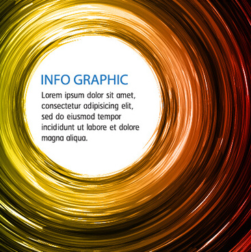 shiny circles colored background art vector