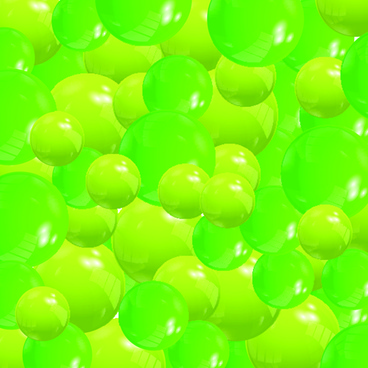 shiny colored balls background vector