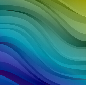 shiny colored wave background design