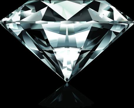 shiny diamond vector design