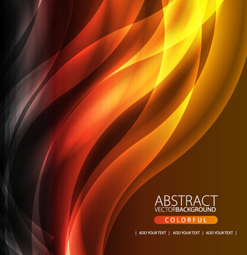 shiny dynamic lines vector background art