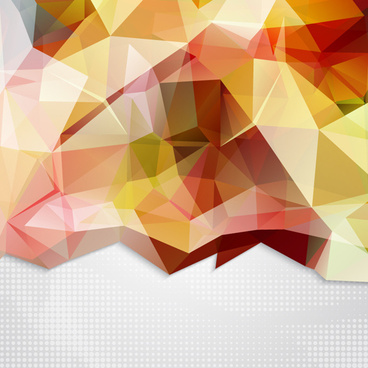 shiny geometric shapes embossment background