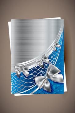 shiny holiday cards vector