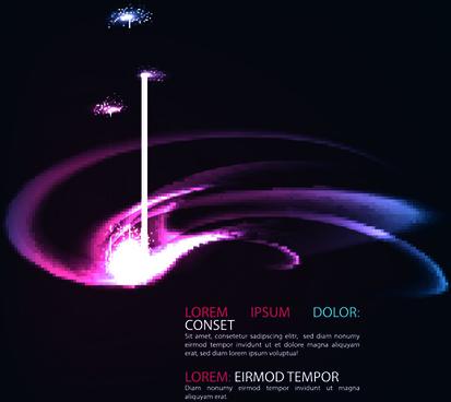 shiny purple stylish backgrounds vector
