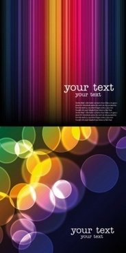shiny round with light lines background vector