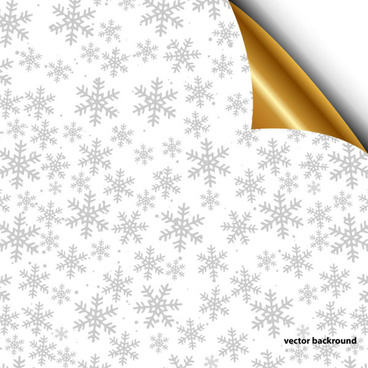 shiny snowflake backgrounds illustration vector
